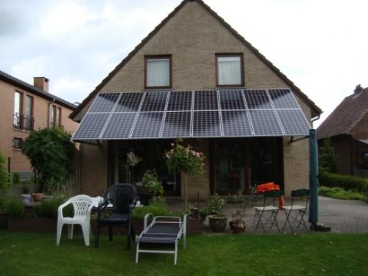 où placer vos panneaux solaires - auvent