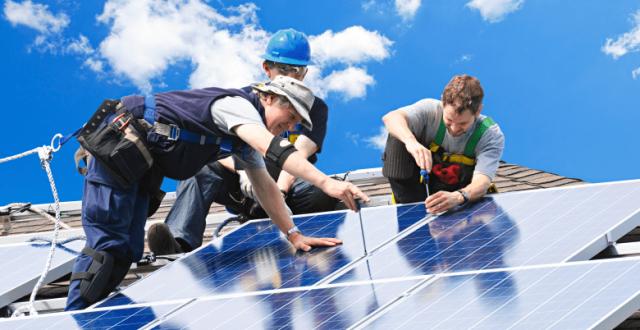fabrication des panneaux solaires