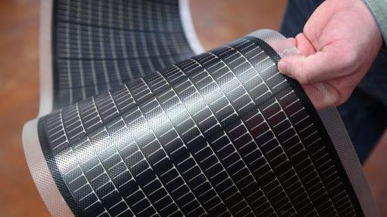 panneaux photovoltaïques amorphes