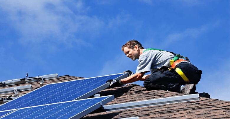 habitation pour panneaux solaires