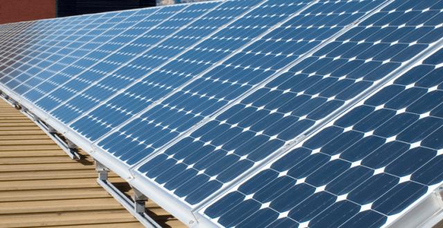 panneaux photovoltaïques d'occasion