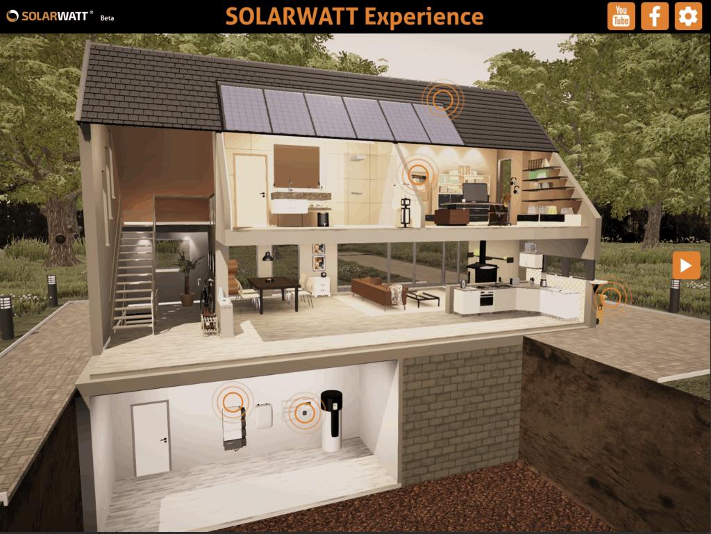 application panneaux solaires : 3D