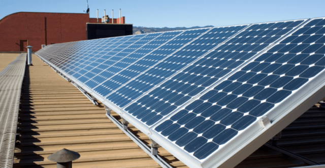 panneaux solaires entreprises