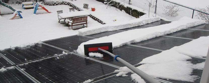 panneaux photovoltaïques en hiver sont toujours aussi performants