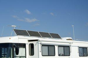 Eté comme hiver, panneaux solaires pour camping car