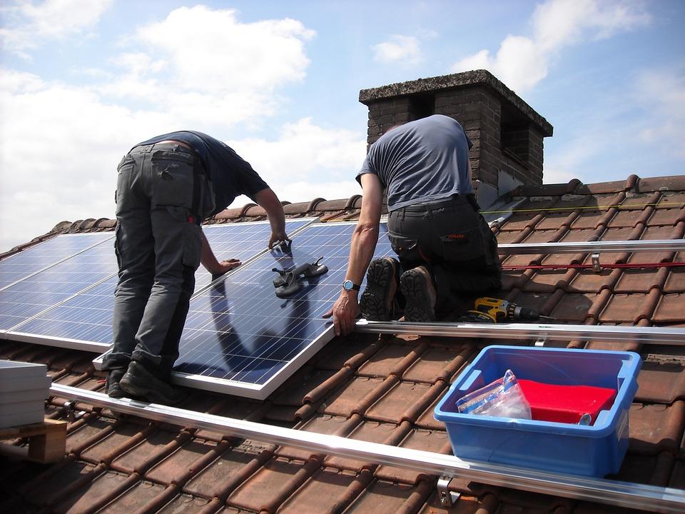 installateur de panneaux photovoltaïque