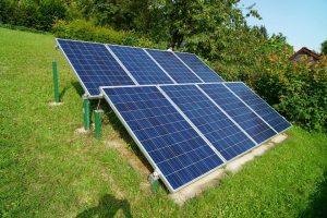 dimensions panneau solaire au sol