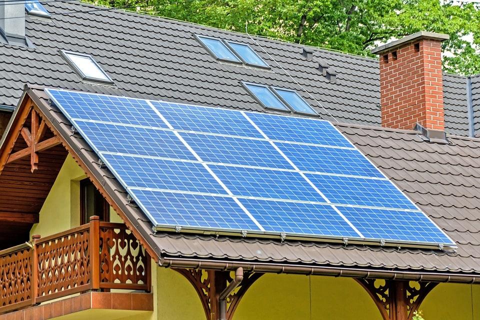 panneaux solaires de petites tailles