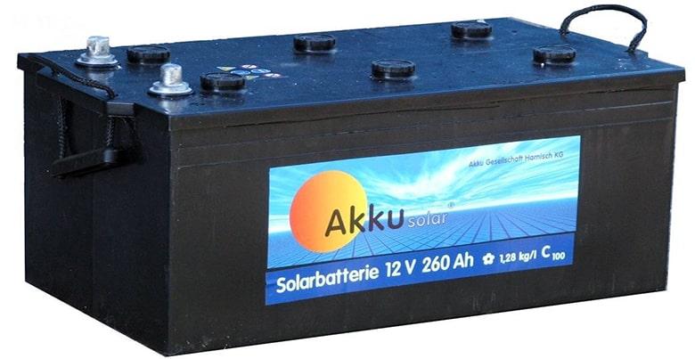 batterie photovoltaïque