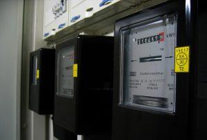 électricité photovoltaïque et compteur