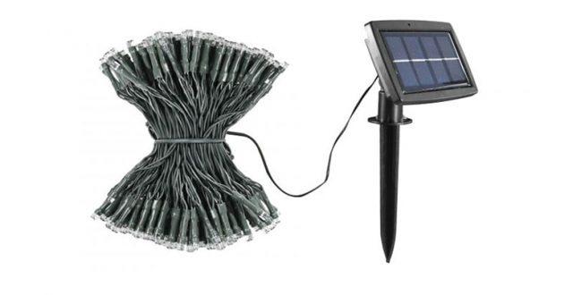 guirlande solaire