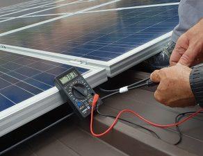test de puissance panneau solaire