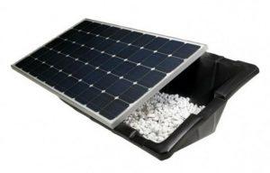 support panneau solaire avec bac à lester