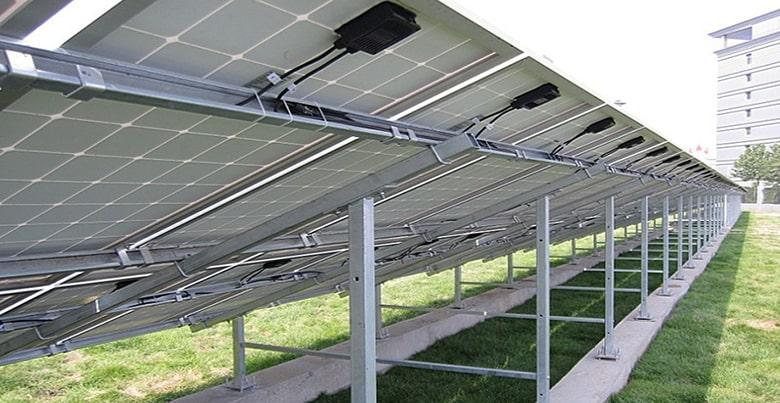 support panneau solaire