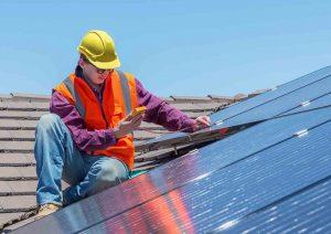 vente panneaux solaires - installation