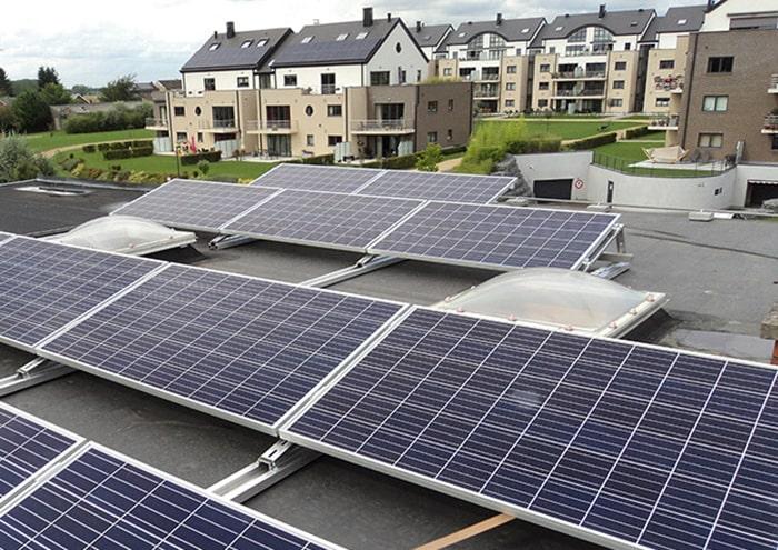 panneaux solaires - pose sur toit
