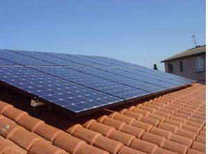 Panneaux photovoltaïques surimposition