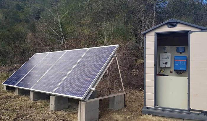 générateur solaire pour petite habitation