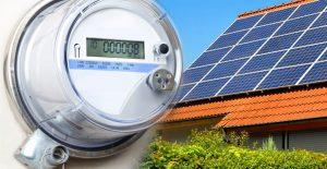 compteur panneaux solaires