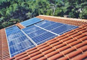 intégration panneaux solaires